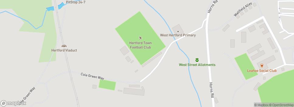 Hertford Town FC West Street