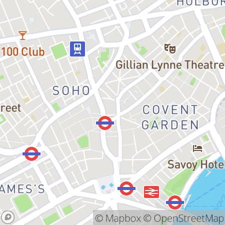 Covent Garden Social Club tickets