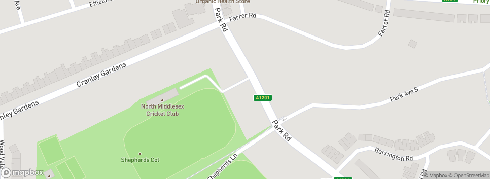 North Middlesex Cricket Club 185a Park Road