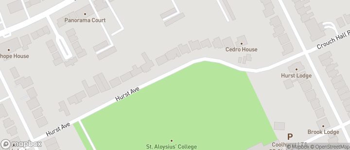Hornsey CC - St Aloysius School Sports Ground