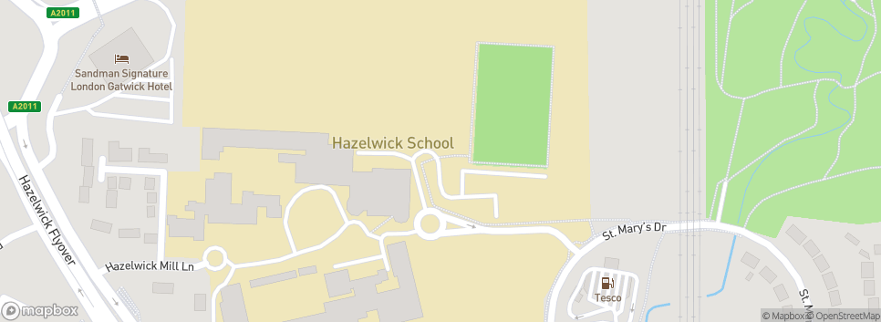 Crawley Hockey Club Hazelwick School, Hazelwick Mill Lane