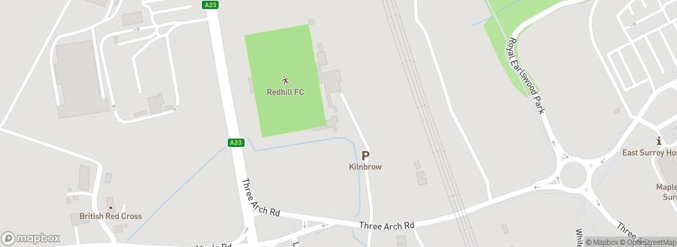 Redhill Football Club Kiln Brow