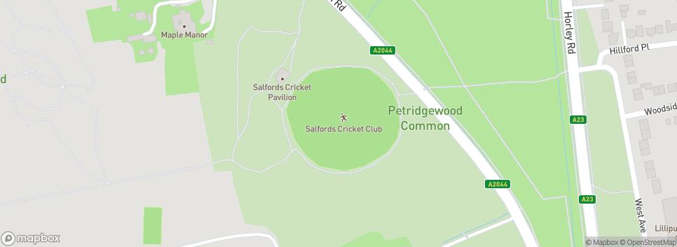 Salfords Cricket Club 34 Woodhatch Rd