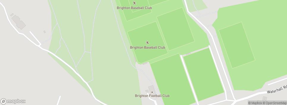 Brighton Baseball Club Waterhall Road