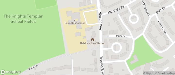 Baldock at Knights Templar Sports centre