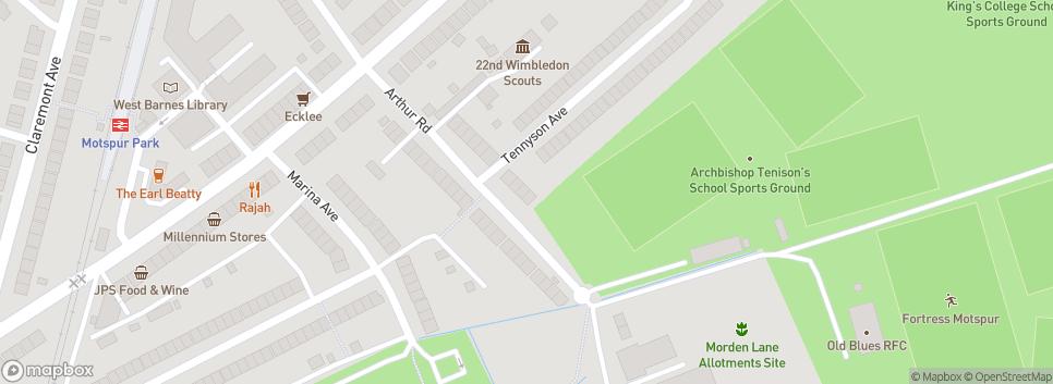 Old Amplefordian RFC Dornan Fields