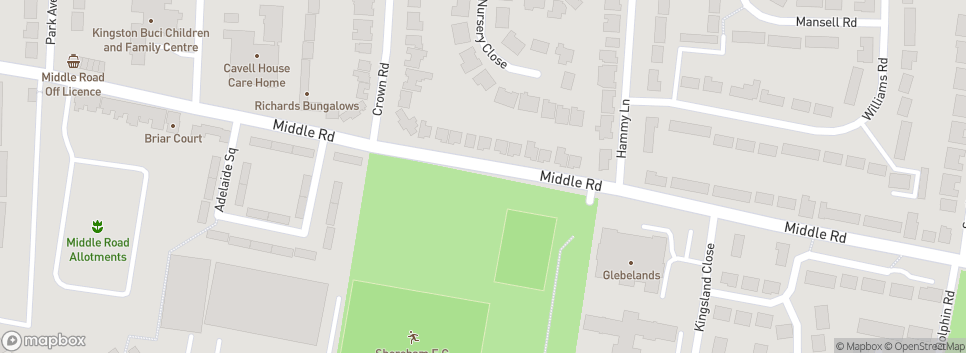 Shoreham FC Middle Road