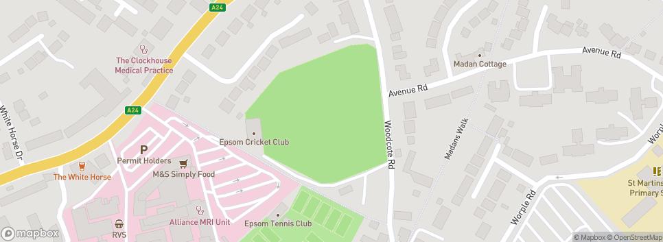 Epsom Cricket Club Francis Schnadhorst Memorial Ground