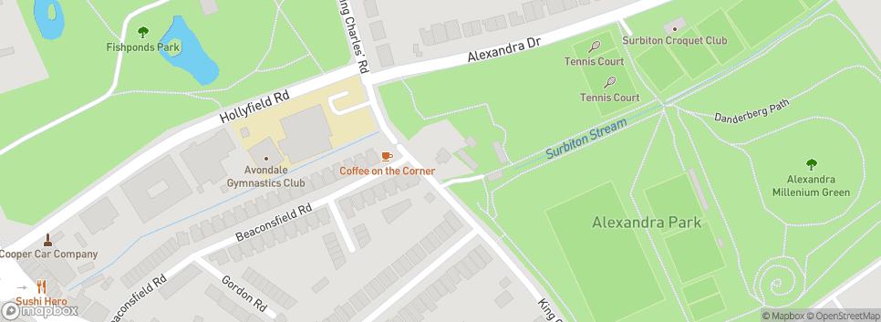 London Gymkhana CC Alexandra Recreation Ground