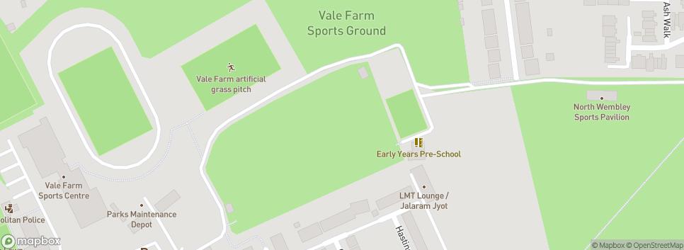 Wembley Cricket Club Vale Farm Sports Ground