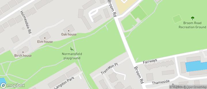 Langdon Park opposite Broom Road Recreation Ground