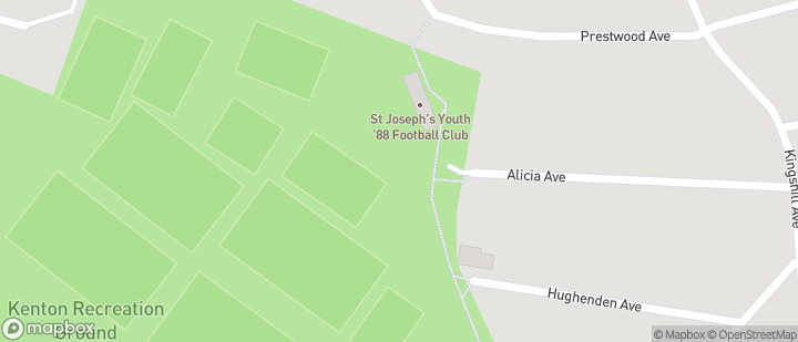 St Josephs Youth FC, Kenton Recreation Ground, Alicia Avenue, Kenton