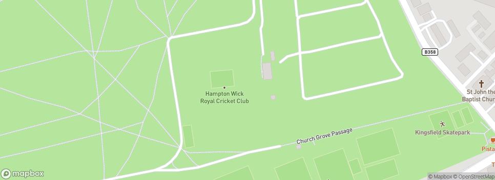 Hampton Wick Royal Cricket Club Bushy Park