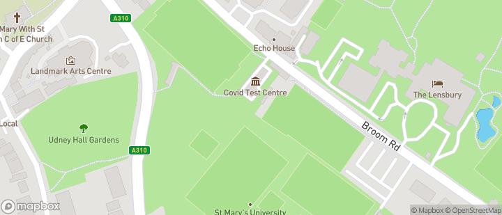 St Mary's University Teddington Lock Sports Fields