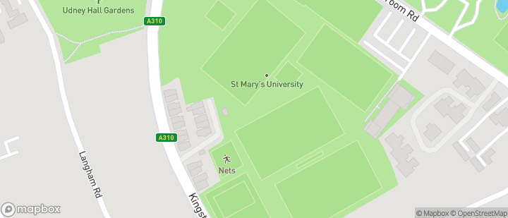 St Mary's University Teddington Lock Sports Fields