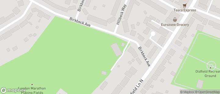 London Marathon Playing Fields
