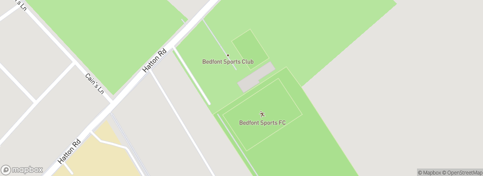 Bedfont Sports Club Bedfont Sports Recreation Ground
