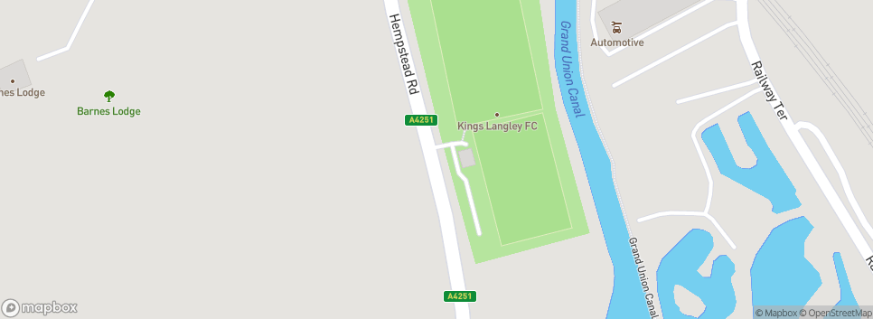 Kings Langley FC The Orbital Fasteners Stadium
