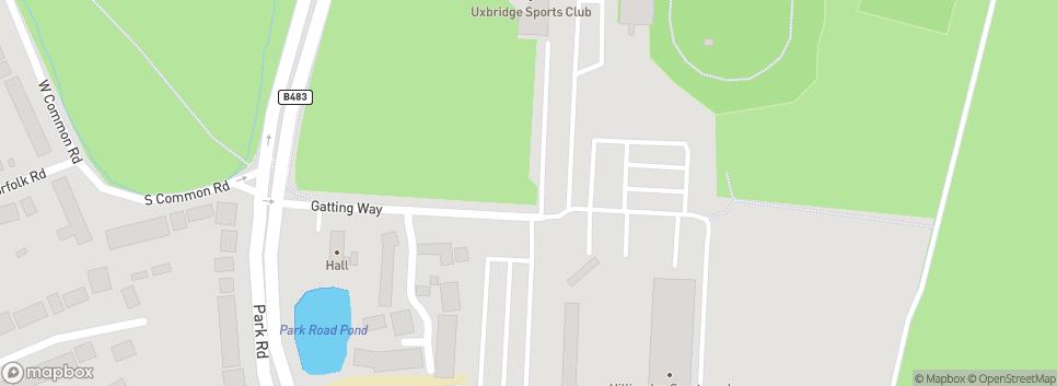 Uxbridge RFC Uxbridge Sports Club, Park Road