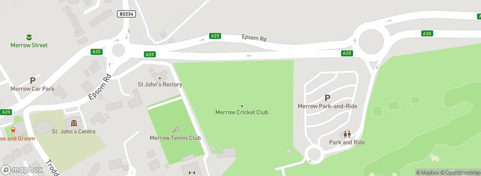 Merrow Cricket Club Epsom Road