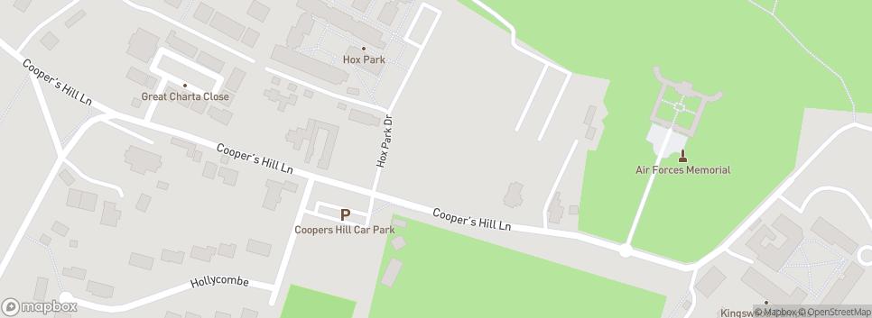 Egham Hollowegians Hox Park Drive