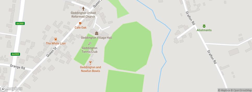 Geddington Cricket Club Geddington Sports Ground