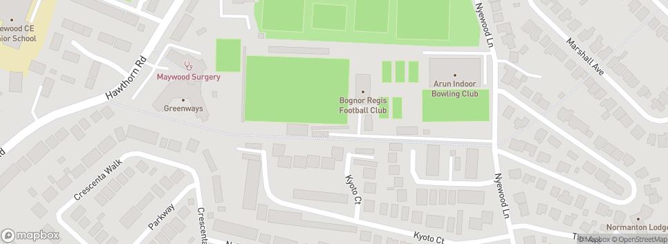 Bognor Regis Town FC Bognor Regis Town Football Club