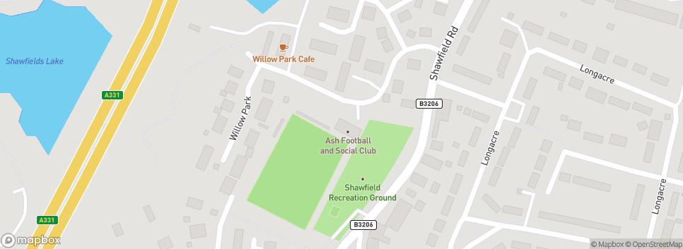 Ash United Football Club Shawfield Stadium
