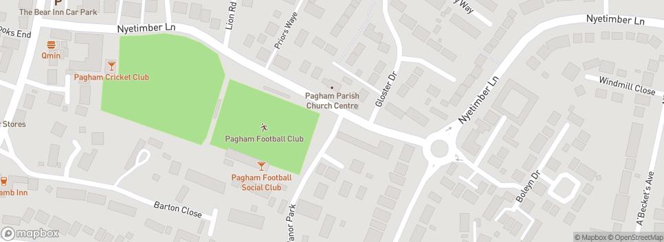 Pagham Football Club Nyetimber Lane