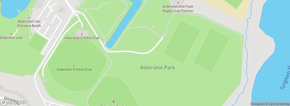 Aldershot & Fleet RUFC.  est.1991 Aldershot Park