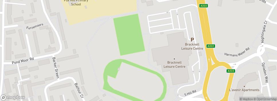 Bracknell Town Walking FC Bracknell Leisure Centre