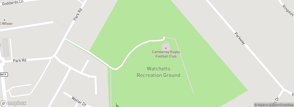 Camberley Rugby Football Club Watchetts  Recreational Ground