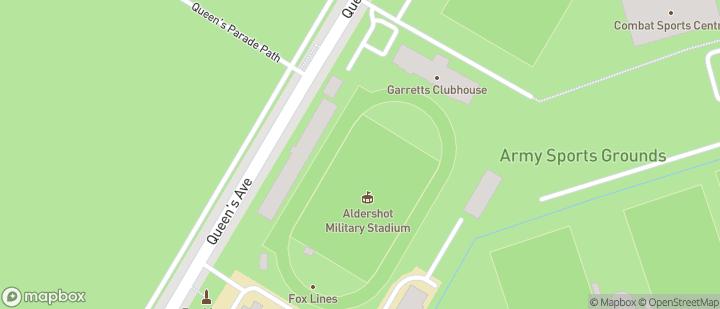 Aldershot Military Stadium