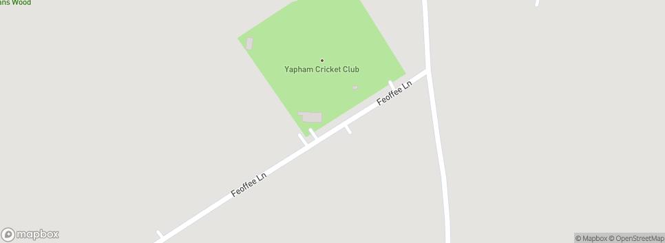 Yapham Cricket Club Yapham Cricket Ground