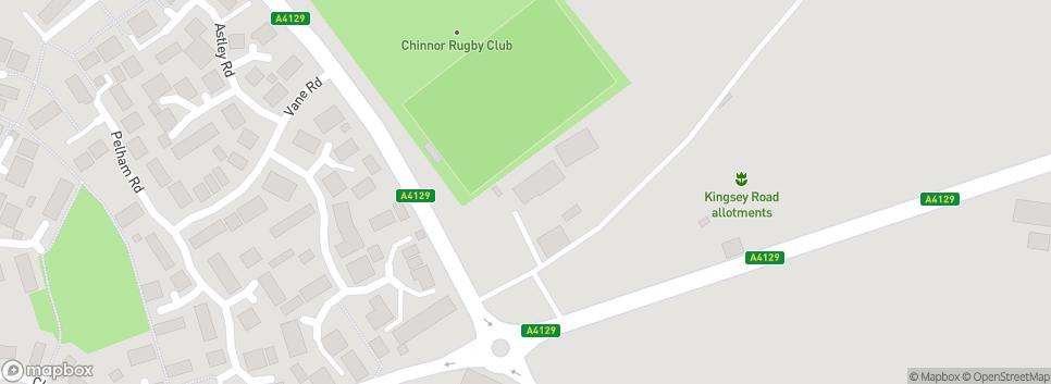 Chinnor Rugby Club Ltd Rectory Pavilion