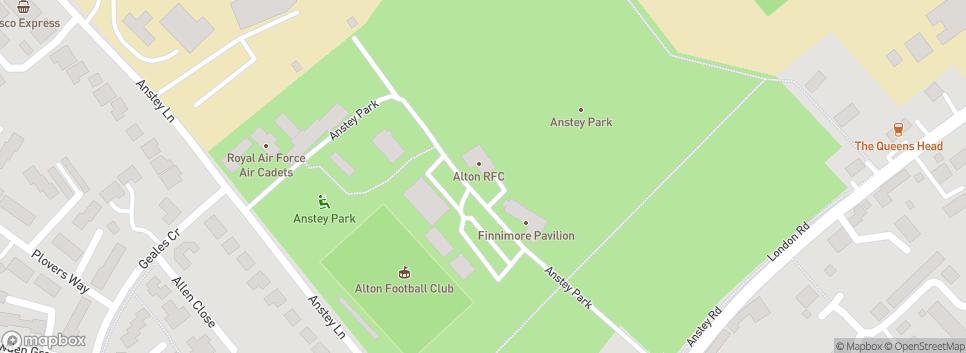 Alton RFC Anstey Park