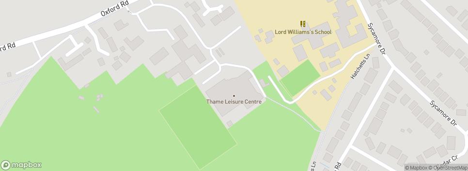 Thame Hockey Club Thame Leisure Centre