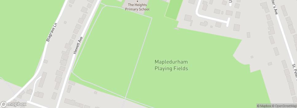 Caversham Trents FC Mapledurham Playing Fields
