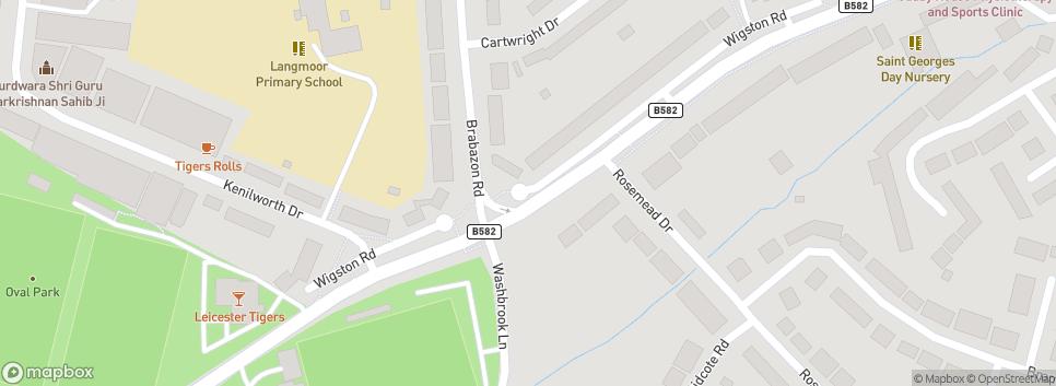 Oadby Town F.C Wigston Road