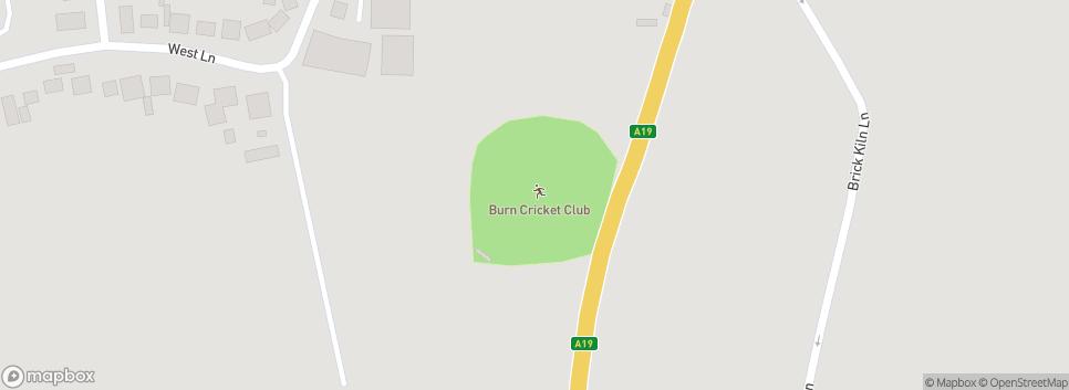 Burn Cricket Club - The Linnets LINNET PARK