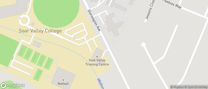 Soar Valley College Netball Courts