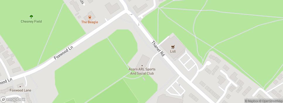 York Acorn RLFC Thanet Road