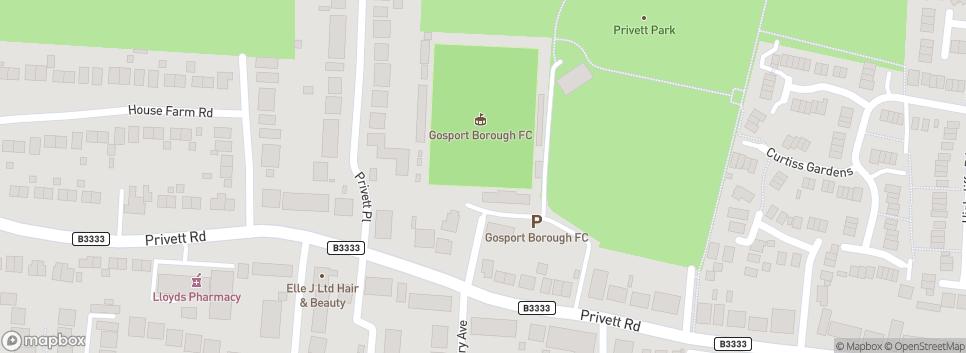 Gosport Borough Football Club Privett Road
