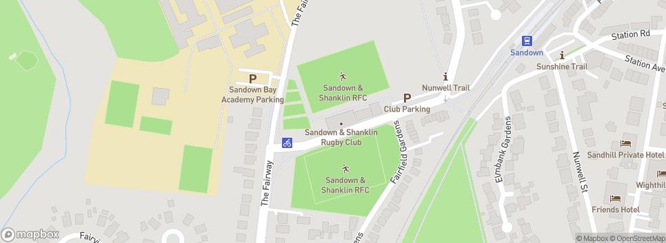Sandown & Shanklin RFC The Fairway Ground