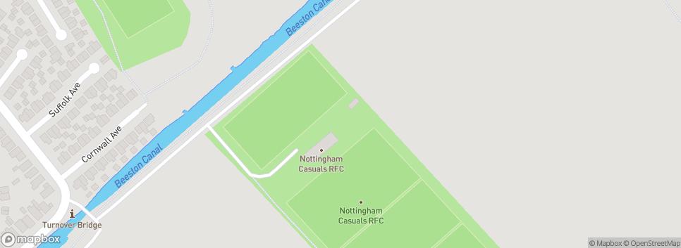 Nottingham Casuals RFC Weir Field Recreation Ground