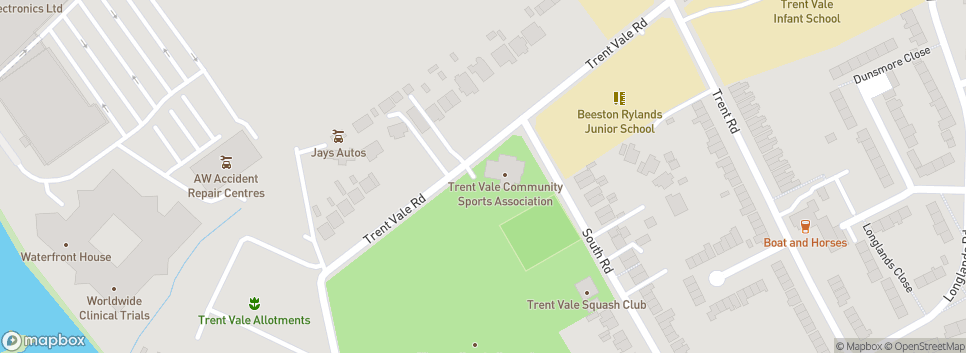 Beeston FC Trent Vale Recreation Ground