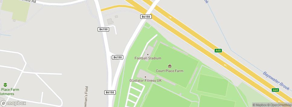 Oxford City Football Club Marsh Lane