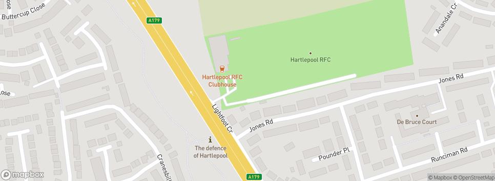 HARTLEPOOL RUGBY CLUB Mayfield Park