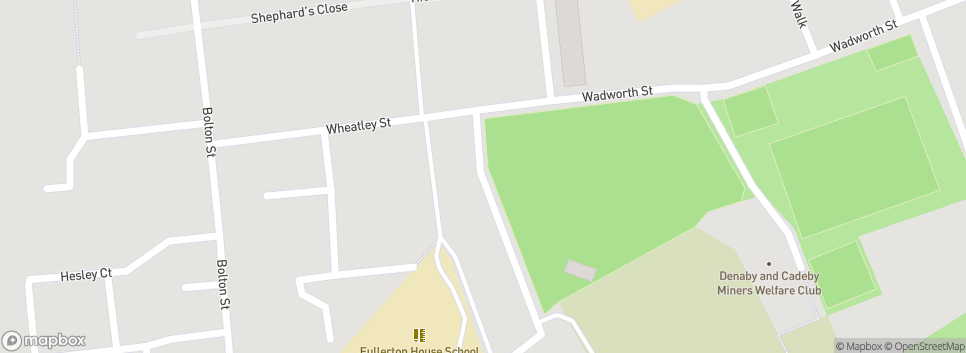 Denaby Main JFC tickhill square