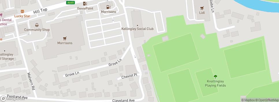 Kellingley Welfare Junior FC Marine Villa Road